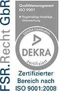 Kanzlei FSR | Dekra Logo